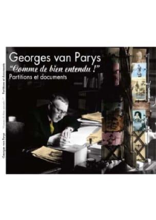 Comme de Bien Entendu ! Georges Van Parys Partition laflutedepan