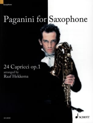 Niccolo Paganini - Paganini For Saxophone, 24 Caprices Opus 1 - Sheet Music - di-arezzo.com