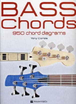 Bass Chords - 950 Chord Diagrams Tony Corizia Partition laflutedepan