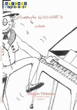 Christophe Guichard - Allegro Virtuoso - Partition - di-arezzo.fr