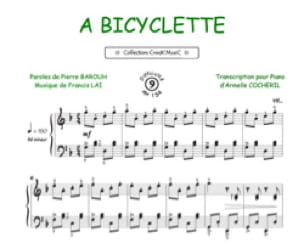 Francis Lai - A Bicyclette - Partition - di-arezzo.ch