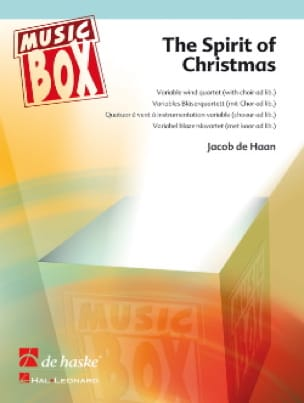Jacob de Haan - The spirit of christmas - music box - Partition - di-arezzo.fr
