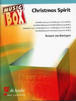 Robert Van Beringen - Christmas spirit - music box - Sheet Music - di-arezzo.com
