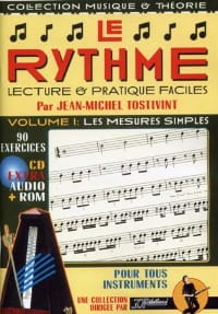 Tostivint Jean-Michel / Rébillard Jean-Jacques - The rhythm volume 1: The simple measures / Rom - Sheet Music - di-arezzo.co.uk