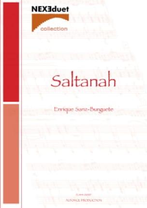 Enrique Sanz-Burguete - Saltanah - Partition - di-arezzo.fr