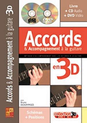 Accords & Accompagnement A la Guitare En 3D laflutedepan