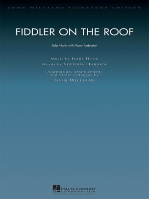 Jerry Bock - A violin on the roof - Sheet Music - di-arezzo.com