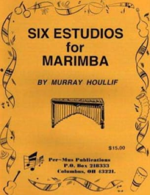 Murray Houllif - Six Estudios For Marimba - Sheet Music - di-arezzo.com