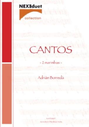Cantos - Adrian Borreda - Partition - laflutedepan.com