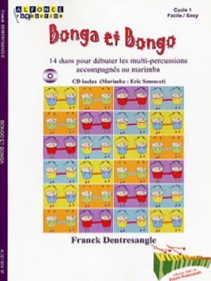 Bonga et bongo - Franck Dentresangle - Partition - laflutedepan.com