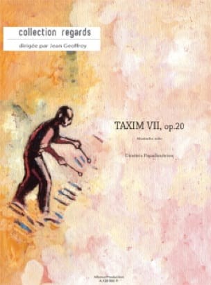 Dimitris Papadimitriou - Taxim VII Opus 20 - Partition - di-arezzo.fr