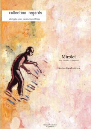 Dimitris Papadimitriou - Miroloi - Partition - di-arezzo.fr