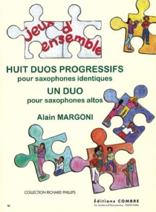 Huit Duos Progressifs - Alain Margoni - Partition - laflutedepan.com