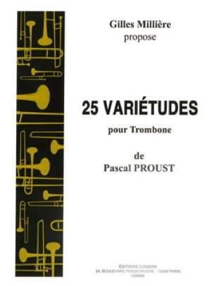 Pascal Proust - 25 variedades para trombón - Partitura - di-arezzo.es