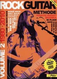 Shanka François Maigret / Rébillard Jean-Jacques - Rock guitar méthode 1980-2010 volume 2 - Partition - di-arezzo.fr