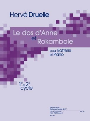Hervé Druelle - The Back Of Anne And Rokambole - Sheet Music - di-arezzo.co.uk