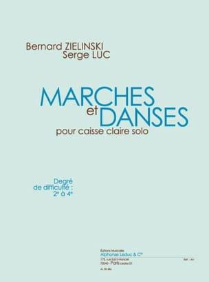 Zielinski Bernard / Luc Serge - Marches Et Danses - Partition - di-arezzo.fr