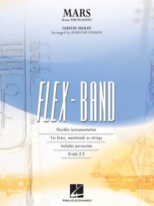 Mars From The Planets - FlexBand HOLST Partition laflutedepan