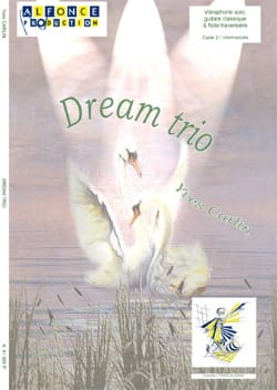 Dream trio - Yves Carlin - Partition - Vibraphone - laflutedepan.com