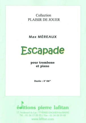 Max Méreaux - Escapade - Partition - di-arezzo.fr