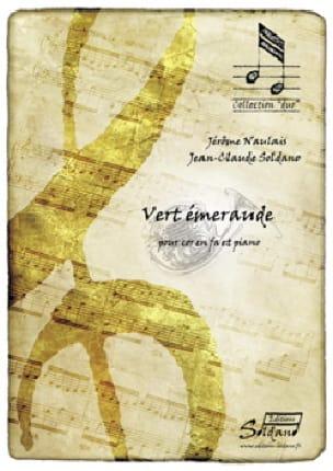 Jérôme Naulais & Jean-Claude Soldano - Vert Emeraude - Partition - di-arezzo.fr
