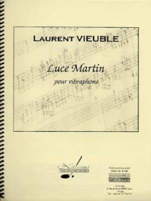 Luce Martin Laurent Vieuble Partition Vibraphone - laflutedepan