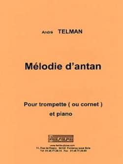 André Telman - Melody of yesteryear - Sheet Music - di-arezzo.com