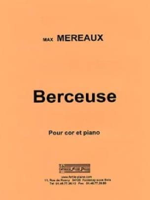 Berceuse - Max Méreaux - Partition - Cor - laflutedepan.com