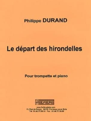 Philippe Durand - The departure of the swallows - Sheet Music - di-arezzo.com