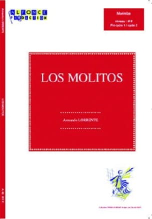 Los Molitos Armando Lorente Partition Marimba - laflutedepan