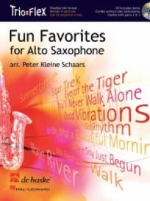 Fun Favorites Trio Flex Partition Saxophone - laflutedepan