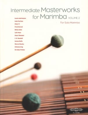 Intermediate Masterworks For Marimba Volume 2 - laflutedepan.com