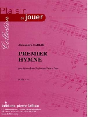 Premier hymne - Alexandre Carlin - Partition - Tuba - laflutedepan.com