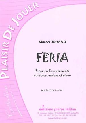Feria Marcel Jorand Partition Multi Percussions - laflutedepan