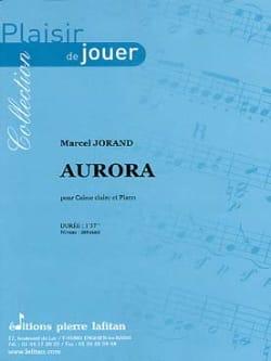 Aurora - Marcel Jorand - Partition - Caisse-claire - laflutedepan.com