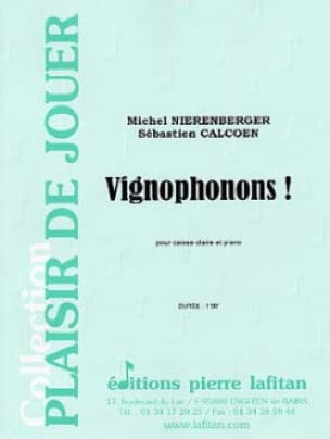 Nierenberger Michel / Calcoen Sébastien - Vignophonons! - Sheet Music - di-arezzo.co.uk