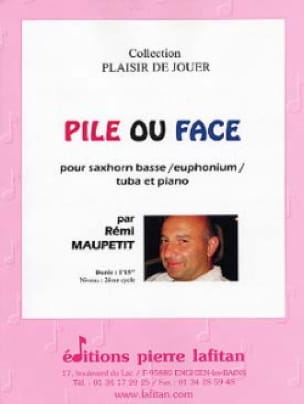 Rémi Maupetit - Pile or Face - Sheet Music - di-arezzo.co.uk