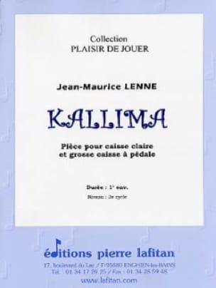 Jean-Maurice Lenne - Kallima - Partition - di-arezzo.fr