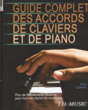 Paul Lennon - Complete Guide To Keyboard And Piano Chords - Sheet Music - di-arezzo.co.uk