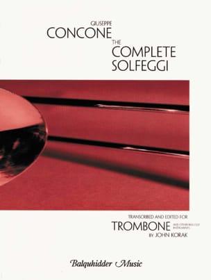 Giuseppe Concone - The Complet Solfeggi Trombone - Partition - di-arezzo.fr