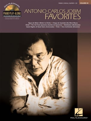Antonio Carlos Jobim - Play-Along Piano Volume 84 - Preferiti Jobim - Partitura - di-arezzo.it