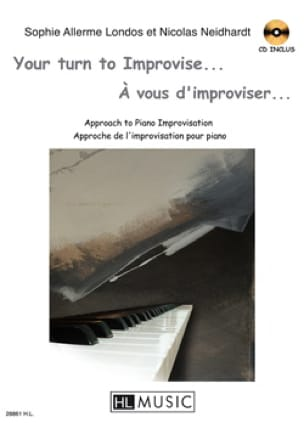 Allerme Londos Sophie / Neidhardt Nicolas - You have to improvise ... - Sheet Music - di-arezzo.co.uk