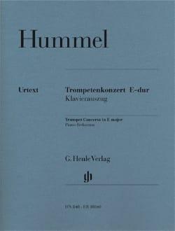 HUMMEL - Trompetenkonzert E-Dur - Sheet Music - di-arezzo.com