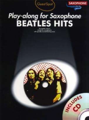 BEATLES - Guest Spot - Beatles Hits Play Along For Alto Saxophone - Sheet Music - di-arezzo.co.uk