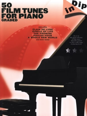 - 50 Tunes For Piano Graded Film - Dip In - Sheet Music - di-arezzo.com