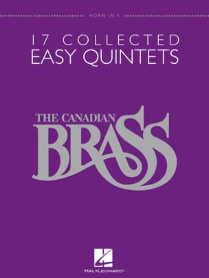 17 Collected Easy Quintets - Sheet Music - di-arezzo.com