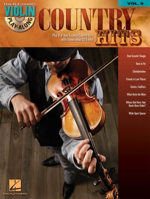 Violin play-along volume 9 - Country Hits Partition laflutedepan
