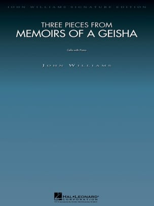 John Williams - Three Pieces From Memoirs Of A Geisha - Sheet Music - di-arezzo.co.uk