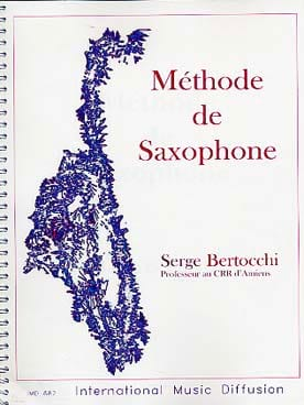Serge Bertocchi - Saxophone Method - Sheet Music - di-arezzo.co.uk