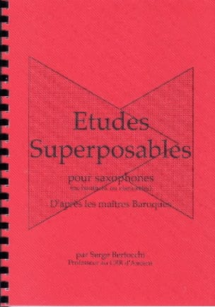 Serge Bertocchi - Stackable studies - Sheet Music - di-arezzo.co.uk